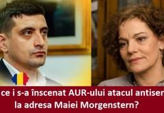 De ce i s-a înscenat AUR-ului atacul antisemit la adresa Maiei Morgenstern chiar în ziua în care AUR a devenit partid politic și în Republica Moldova?!