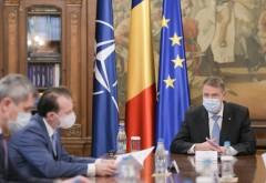 Iohannis, ședință la Cotroceni pentru relaxarea măsurilor anti-Covid. Participă premierul, șeful DSU și mai mulți miniștri