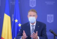 Klaus Iohannis: Din 15 mai se elimină portul măștii în exterior şi restricțiile de circulație noaptea