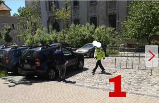 Apucaturi de dictator! Nicușor Dan nu intră în mașină până nu i se deschide portiera / foto