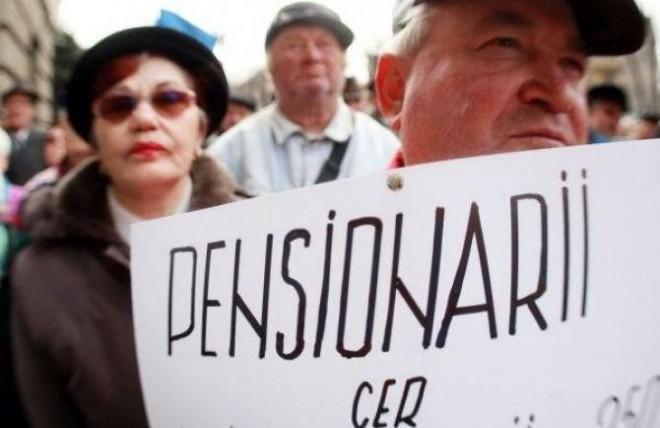 Se anunta proteste masive. Pensionarii ies in strada