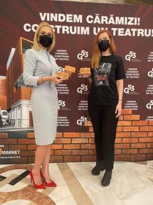 """Senatorul prahovean Laura Moagher se alatura campaniei """"Grivita 53"""". Un nou teatru va fi construit dupa 75 de ani, in Bucuresti"""