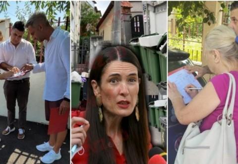 """PSD: Locuitorii Sectorului 1 se """"răcoresc"""" semnând pentru demiterea lui Clotilde Armand"""
