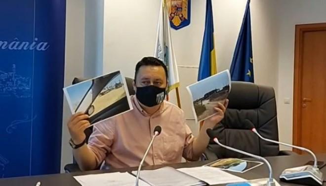 """Primarul Volosevici critică dur Prefectura şi Garda de Mediu: """"Le solicit public unor instituţii să se trezească"""""""