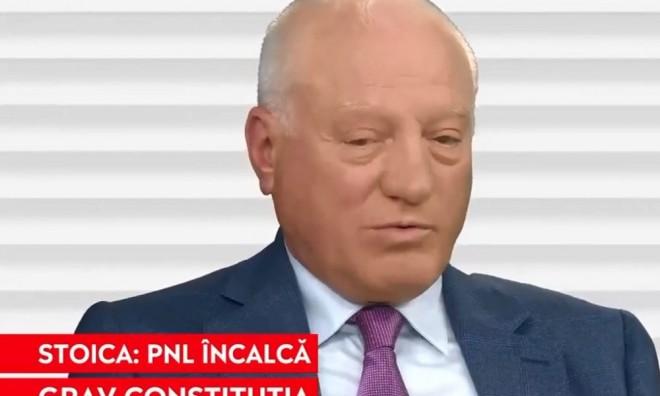 Valeriu Stoica, fost președinte al liberalilor și jurist: PNL încalcă grav Constituția