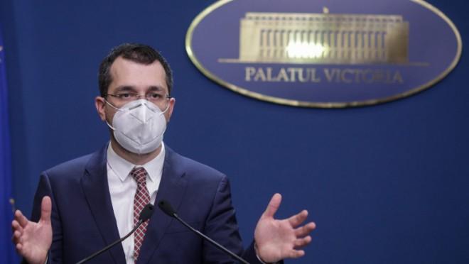 Florin Cîțu: Vlad Voiculescu a semnat pentru 9 milioane de doze de vaccin CureVac, care nu a fost aprobat niciodată