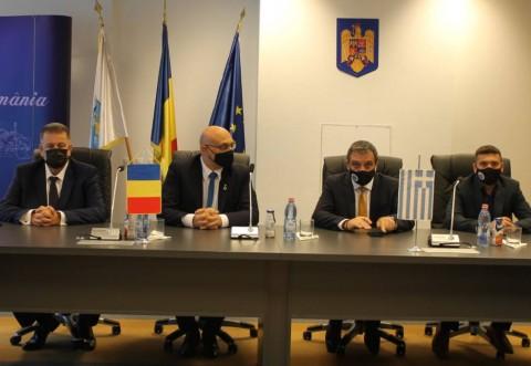 Delegaţie din Lefkada, în vizită oficială în Ploieşti