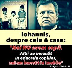 Iohannis, neamţul român CU MULT SÂNGE RECE!