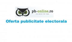 "Campania electorala in ""Ph-online.ro"""
