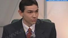 Imagini din 1997 cu Victor Ponta. Apariţia la TV a premierului pe vremea când era procuror VIDEO