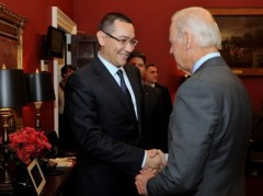 Vicepreşedintele SUA, Joe Biden, l-a sunat pe Victor Ponta. Vezi despre ce au discutat