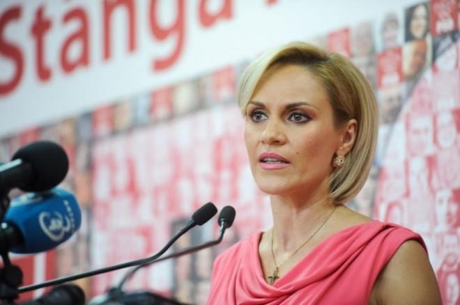 "Gabriela Firea: ""Klaus Iohannis fuge de justiție"""