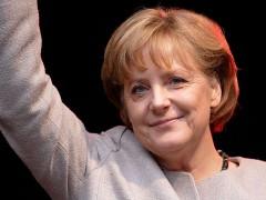 Iohannis se viseaza sustinut de Angela Merkel...