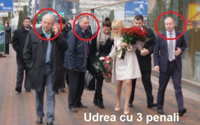 Udrea, cu trei penali. Un jurnalist publica imaginea care ii da fiori candidatei PMP