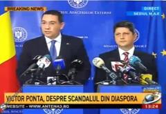 Ponta taie în carne vie: Corlățean riscă demiterea / Ambasadorii, chemați la ordine
