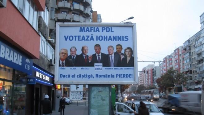 AVERTISMENT pentru toţi românii! Mafia PDL votează cu Iohannis