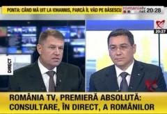 Klaus Iohannis a venit nepregătit le dezbaterea electorală VIDEO