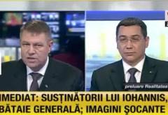 DEZBATERE PONTA - IOHANNIS. Iohannis nu a învăţat încă elemente esenţiale despre pensii