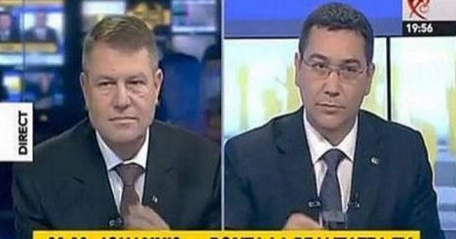 RUŞINOS! Decizia radicală a staff-ului lui Iohannis după prima confruntare cu Ponta