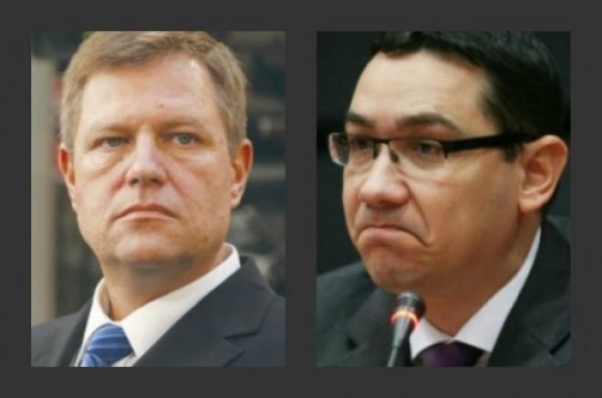 GAFA de proporţii a lui Klaus Iohannis. Ponta l-a contrat cu Constituţia