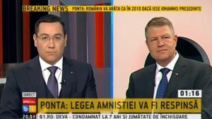 Glonţul de argint tras de Ponta: retrocedările din Sibiu! Iohannis n-a avut nici o replică VIDEO