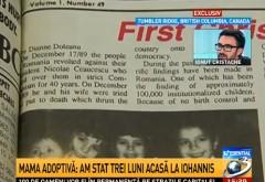 Klaus Iohannis a minţit în scandalul adopţiilor ilegale. Mama adoptivă: Am stat trei luni acasă la Iohannis