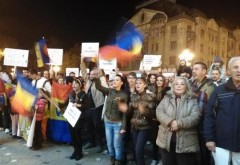 Timișoara i-a spus PA PA lui Klaus Iohannis