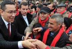 VICTOR PONTA: Vă mulţumesc pentru sprijin! Haideţi cu toţii la vot pentru o Românie unită şi puternică!