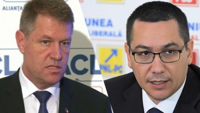 EXIT-POLL ora 13: Victor Ponta 61% - Klaus Iohannis 39%