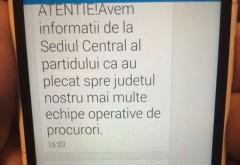 ACL a trimis SMS-uri otravite in numele PSD. Vezi aici mesajele