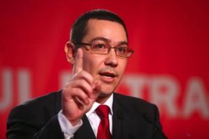 VICTOR PONTA: NU DEMISIONEZ din funcţia de prim-ministru