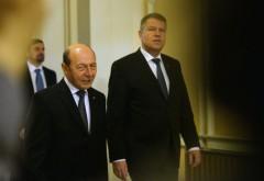 Iohannis și Băsescu merg împreună la Consiliul European din decembrie