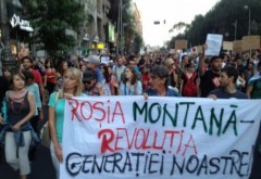"""Probleme pentru Iohannis: Ce mesaj a primit din partea mişcării """"Salvaţi Roşia Montană"""""""