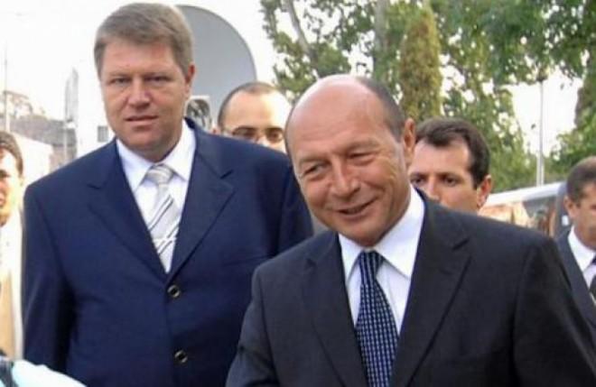 Întâlnire între Iohannis şi Băsescu