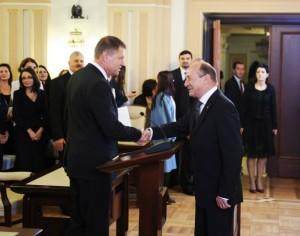 Prima REACTIE a lui Klaus Iohannis după întâlnirea cu Traian Băsescu