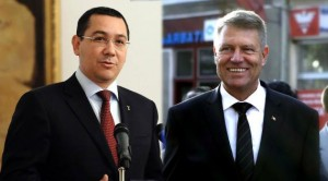 ÎNTÂLNIRE Klaus Iohannis-Victor Ponta, la Palatul Cotroceni