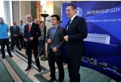 Victor Ponta invită tinerii la cea de-a treia ediție a programului INTERNSHIP organizat de Guvern