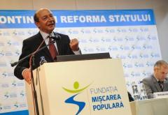 TRAIAN BĂSESCU, apariţie-surpriză la Congresul PMP