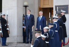 Victor Ponta s-a întâlnit cu Secretarul Apararii al SUA. Ce au discutat