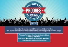 PROGRES ROMÂNIA. Noul partid și-a lansat platforma. Cum te poți înscrie