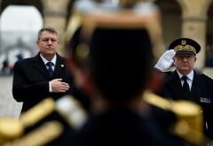 Klaus Iohannis a decorat un șef de Poliție din subordinea căruia au evadat 5 deținuți în doar o lună