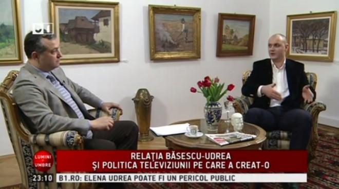 Sebastian Ghiţă, detalii despre relaţia cu Udrea. De ce i-a trimis un mesaj prin email lui Băsescu