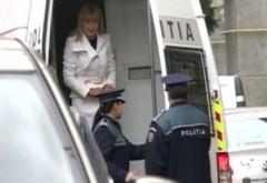 """Elena Udrea, adusă în cătuşe la DNA, pentru a fi audiată în dosarul """"Gala Bute"""""""