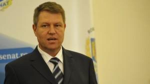 KLAUS IOHANNIS, declaraţie de presă la ora 18.00, la Palatul Cotroceni