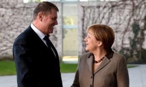 Preşedintele Klaus Iohannis, întâlnire crucială cu Angela Merkel