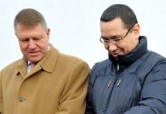 Victor Ponta, ATAC la Klaus Iohannis