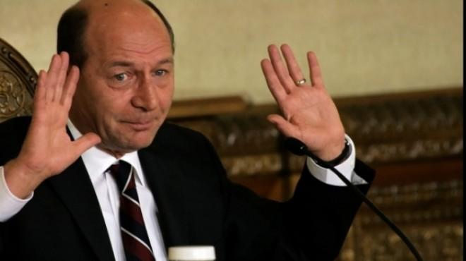 Traian Băsescu va fi audiat miercuri la Parchetul General în dosarul de şantaj