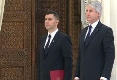 Teodorovici şi Nica au depus jurământul de învestitură, la Ministerul Finanţelor și Ministerul Fondurilor Europene