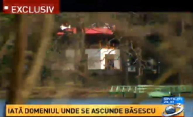 VIDEO - Cum arată vila lui Traian Băsescu de la Scroviștea