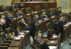 AUTODENUNȚ de trafic de influență în plenul Senatului României